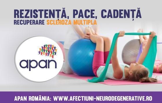 Rezistență, pace și cadență! Program de recuperare în scleroza multiplă (SM)
