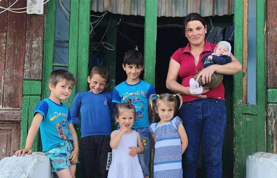 O casă pentru Adriana și copiii ei