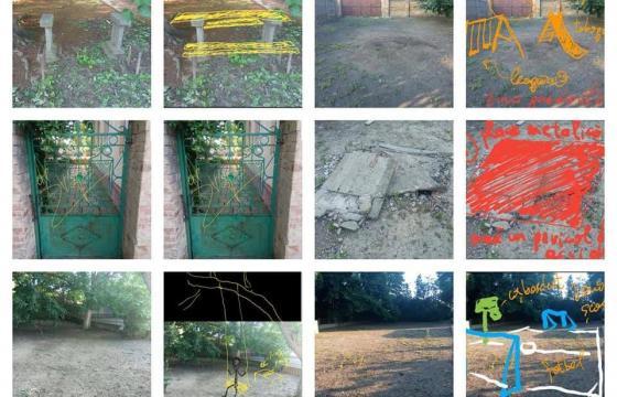 Renovarea curtii scolii primare din Macedonia