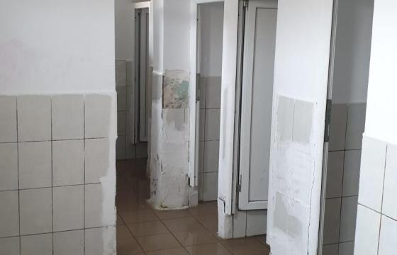 Refacerea toaletelor şcolii din satul Stoeneşti, jud Giurgiu