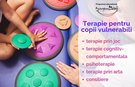 Terapie pentru copii vulnerabili