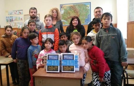 Un Crăciun cu bucurii pentru școlarii din Zlagna