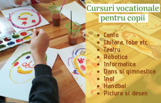 Cursuri vocaţionale pentru copii ~ 2020