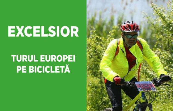 EXCELSIOR, TURUL EUROPEI PE BICICLETĂ