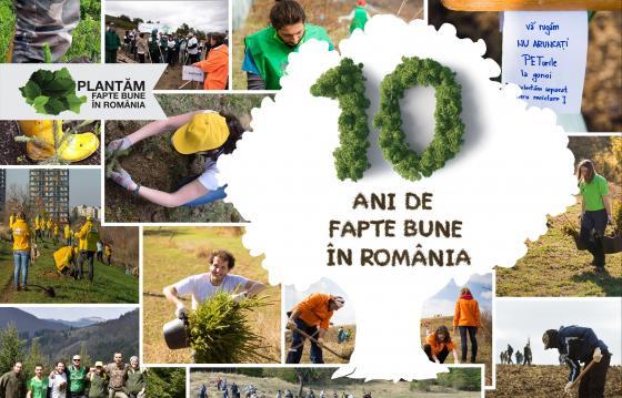 Plantam fapte bune in Romania - 2020