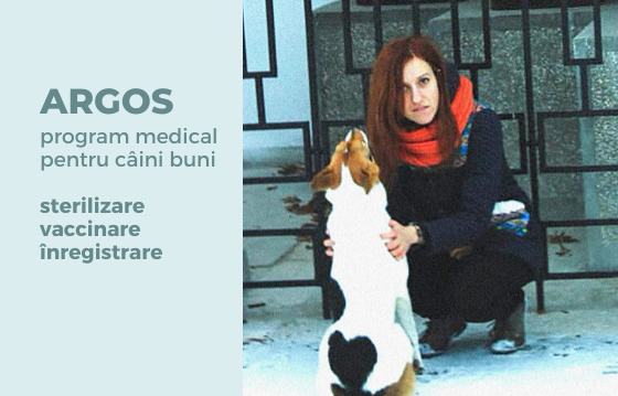 ARGOS. Program medical pentru câini buni