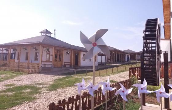 Ansamblul Moara de hârtie - Satul meșteșugurilor