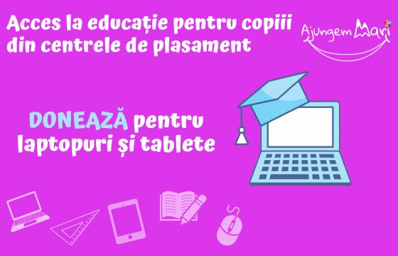 Copii conectati la educatie
