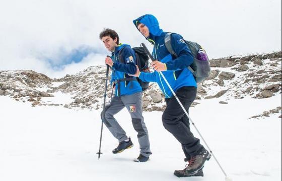 Un pas mai departe, sus pe Mont Blanc