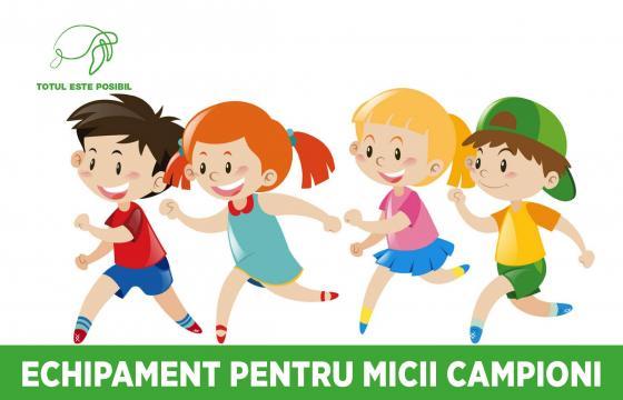 ECHIPAMENT PENTRU MICII CAMPIONI