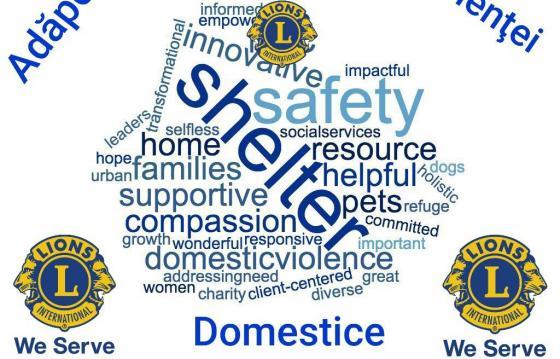Construirea unui Adăpost pentru Victimele Violenţei Domestice